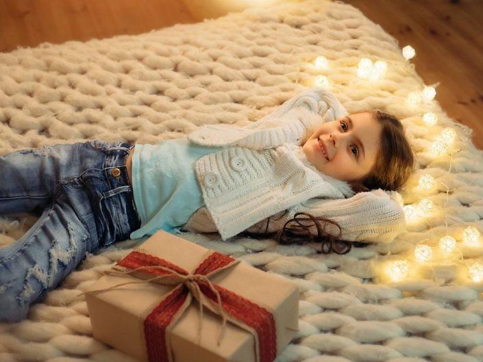 Детская новогодняя сьемка
